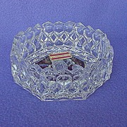 Byrdes Crystal Ashtray / Bowl