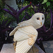 1980's Franklin Mint McMonigle Barn Owl