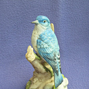 Gorham Gallery Birds Mountain Bluebird Figurine
