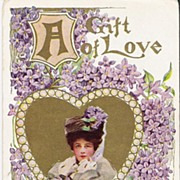 """A Gift of Love - Unsigned Philip Boileau - Postcard"