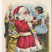 &quot;A Joyous Christmas&quot; - Santa Claus - Christmas