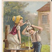 """A Practical Joke"" - Advertising Trade Card"