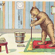 &quot;Friday&quot; - Bear & For Bear - Cleaning House