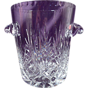 Cut Crystal Champagne/Ice Bucket, Large!