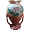 Vintage Hull Vase &quot;Water Lily&quot; Pattern, L-13, 10 1/2, 1948, USA