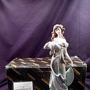 Giuseppe Armani Figurine, Springtime Lady with Flower Hat, MIB, No Certificate
