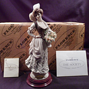 Figurine, Giuseppe Armani, Rare Little Flower, 299P, Mint in Box, Porcelain