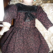 Wonderful antique dress for medium sized bisque doll