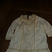Wonderful antique dress for large doll