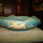 "SALE Roseville 10"" Console Bowl - Apple Blossom 330"