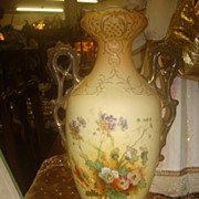 SALE Tall Pottery Vase