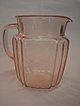 Pink Mayfair Open Rose Juice Pitcher