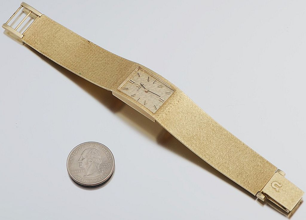 Vintage 14k Gold Tiffany Las Bracelet Watch - ShopWiki