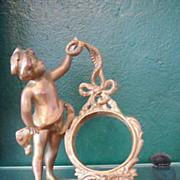 Beautiful Cherub Clock or Watch Holder