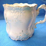 Handpainted Limoges Porcelain Shaving Mug