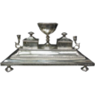 Fine Victorian Silver Desk Stand