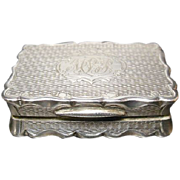 Birmingham Sterling Vinaigrette