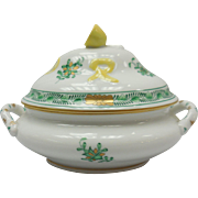Hungarian Herend Porcelain Covered Dish