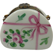 French Limoges Purse Box
