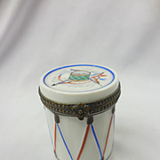 Limoges Box Drum
