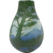 French Cameo Glass Vase by DeVez