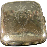Sterling Silver Cigarette & Card case