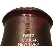 REDUCED Rare Colored Pigeon Blood Red &quot;DIETZ&quot; not within the 1914 patented oval Lant
