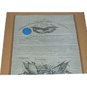 "REDUCED 140 Pc. Group Civil War Captain Breveted for Bravery ""Battle of Gettysburg"","