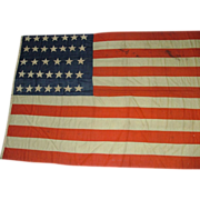 Civil War Flag with 34 Stars Guaranteed from 1861 to 1863 !