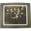 Rare Identified Photo Group of the 4th Volunteer Battalion Manchester Regiment Signal Corp. Backmark 1889 !