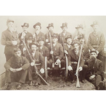 G.A.R POST # 385 Honor Guard from Williamsport,Pa. Civil War Veterans Group Photo Circa.