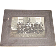 REDUCED Civil War Veteran GAR Post # 571 Safe Harbor,Lancaster County,Pa.Group of Sixteen Men