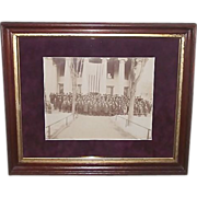 "REDUCED ""Centre County Pa. Civil War Veterans Group Photo"" seen in front of the Cent"