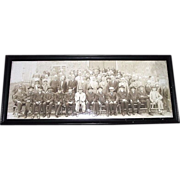 "REDUCED Civil War Captain Joseph T. Tomkins Veterans Group Photo titled ""G.A.R. Diner Clu"