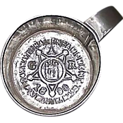 REDUCED G.A.R.  24th National Encampment Souvenir 1890 Tin Cup from Plymouth,Mass. !