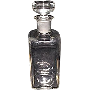 "Marked ""W. T. & Co.""  Druggist Bottle with Ground & Polished Neck & perfect Stopper"