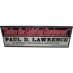 "Near Mint & Dated 1923  "" Notice The Lighting Equipment * Paul R. Lawrence * Lebanon,Pa. "" Sign !!!"