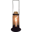 Rare &quot;R.H. Taber Patented 1887 Candle Lantern&quot; with Cylindrical Chimney Holder !!!