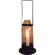 "REDUCED Rare ""R.H. Taber Patented 1887 Candle Lantern"" with Cylindrical Chimney Hold"