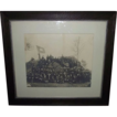 "Large Photo of 54  Civil War Veterans from Post # 4  as seen in front of Devil's Den in Gettysburg,Pa. with 20 S.U.V. ""Sons of Union Veterans"" !!!"
