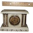 Miniature Drug Store Advertising Clock marked � R*I*P*A*N*S Take One  At The Time�  with original non-working Seth Thomas Movement & Paper Dial. Ca. 1900.