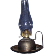 Solid Brass Salch Safety  Oil Lamp !! Ca. 1910's .