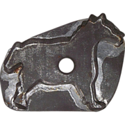 "Tinsmith Made ""Pony"" Cookie Cutter !  Circa Late 19th Century."