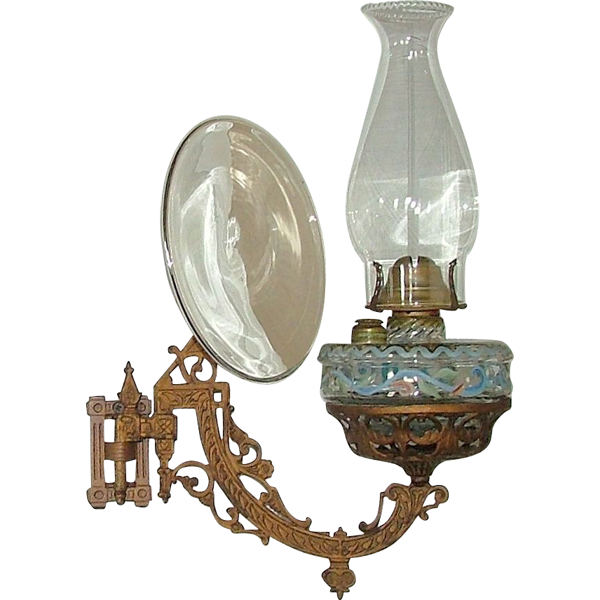 Wall Hung Oil Lamps : Polished Solid Brass Vintage Wall Oil Lamp Images - Frompo