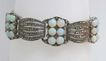 Magnificent Art Deco Sterling Silver & Opal Theodor Fahrner Bracelet