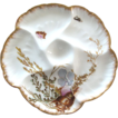 Antique Haviland Oyster Plate with Seashells & Seaweed