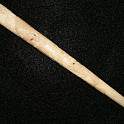 SALE Ivory handle Walking stick