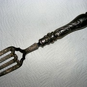 1853 Sterling silver serving fork