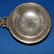 Vintage Hunt Silver Co. Sterling silver porringer