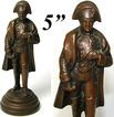 Antique French Bronze Miniature Sculpture: Napoleon Bonaparte
